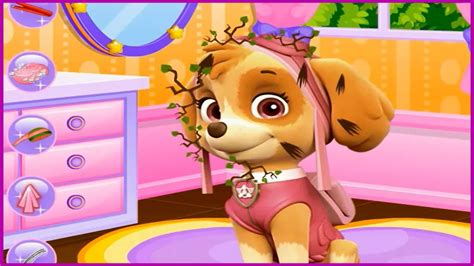 Enjoy With Paw Patrol Facial Spa Makeover Skye From Paw