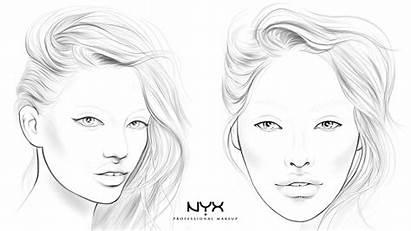 Face Chart Nyx Makeup Charts Rebel Professional