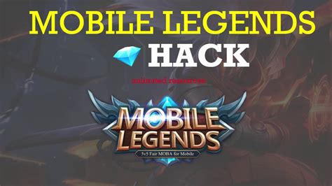 mobile legends hack     diamonds android ios