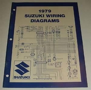 1979 Suzuki Wiring Diagram Manual Jr Pe Ds Dr Ts Sp Gs 125 550 750 850 1000