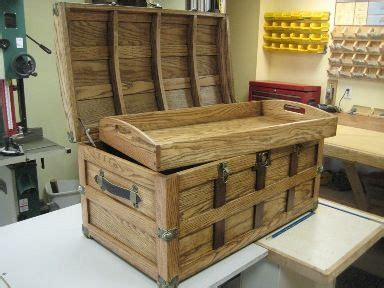 steamer trunk plan rockler woodworking toolscool