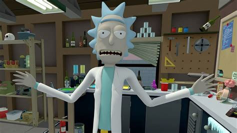 Rick And Morty Virtual Rick Ality Is The Best Vr Toybox