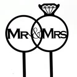 mr and mrs wedding cake toppers mr and mrs diamond ring cake topper south africa wedding
