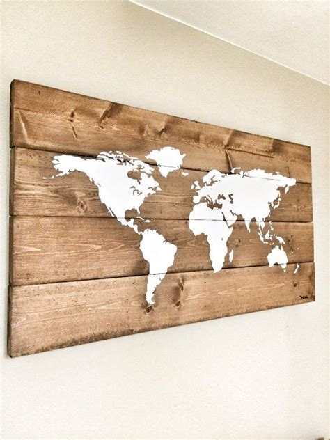 wood map wall rustic wood world map rustic decor farmhouse decor 1600