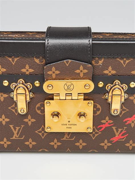 louis vuitton limited edition monogram canvas petite malle