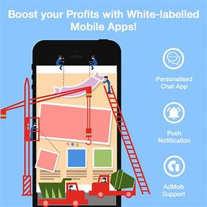 White-labelled Mobile App v2.1 - Slicker & Easy to Monetize