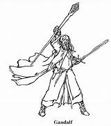 Coloring Lord Rings Gandalf Lotr Legolas Designlooter Printable Getcolorings Drawings Getdrawings 685px 15kb Template sketch template