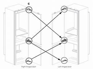 Changing Over Door Hinge  Optional