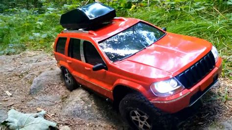 rc scale  jeep grand cherokee limited axial scx ii
