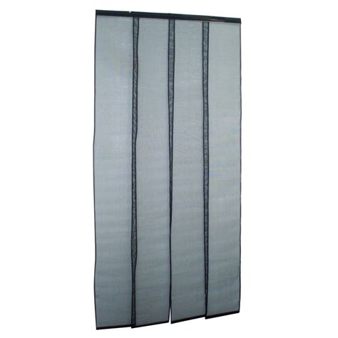zone hardware 900 x 2000mm pvc flywire door curtain