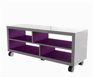 Meuble Tv Tendance : tout roule pour les meubles roulettes galerie photos d ~ Premium-room.com Idées de Décoration