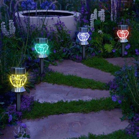 solar path lights reviews solar led landscape lights reviews solar lights landscape