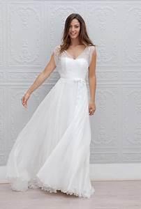 Tenue Mariage Boheme : robe boheme mariage civil ~ Dallasstarsshop.com Idées de Décoration