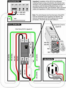 Three Wire Gfci Diagram Gfci Outlet