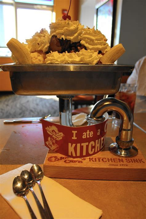 Colonial Cafe offers everything and The Kitchen Sink