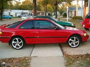 1990 Acura Integra Red   200+ Interior and Exterior Images