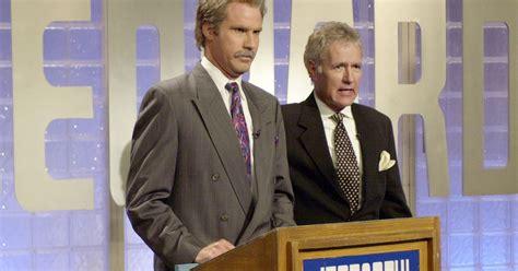 trebek alex ferrell jeopardy fortune wheel 2002 saturday night 37 air date getty skit editorial pictured episode celebrity ellen rest