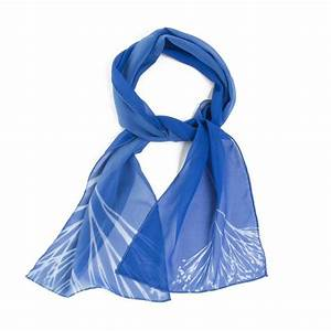 Sunprint Silk Scarf - Blue – The Getty Store