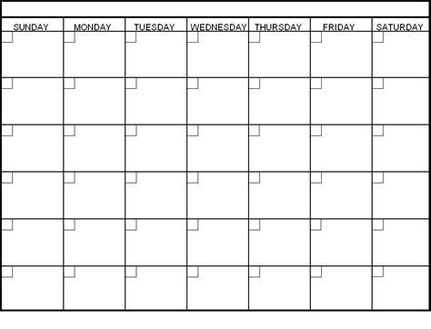 Blank One Month Calendar Template by Calendar Template By Sinatarayne Deviantart On