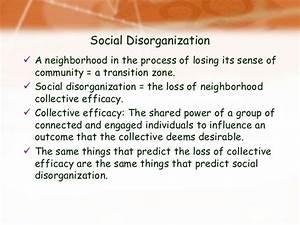 social disorganisation theory