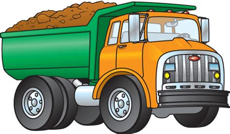 Truck Clip Truck Clipart Loaded Truck Pencil And In Color Truck
