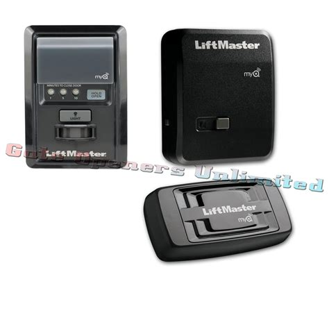 liftmaster myq garage door opener liftmaster myq pckg 1 remote garage opener 828lm