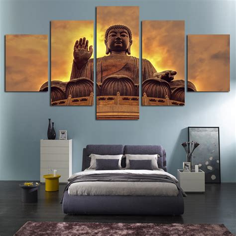 Living Room Groups Cheap by Free Shipping Buddha Canvas Unframed Painting Modern