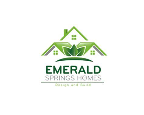 logo design entry number corazon emerald springs homes logo contest