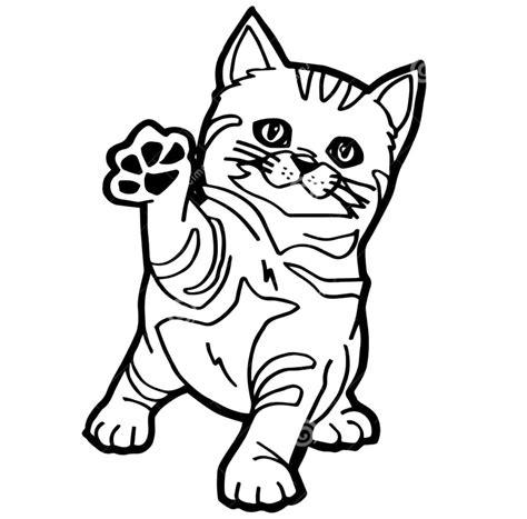 Menggambar dan mewarnai kucing part. Gambar Mewarna Kucing   gambar mewarnai hewan