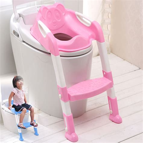 frog potty seat with ladder baby toddler toilet potty seat 2 step ladder