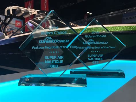 Wakeboard Boat Of The Year by The Air Nautique G23 Wins 3x Wakesurf And 4x