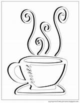 Coloring Tea Cup Coffee Pages Clipart Decided Turned Done Never Something Ve Before Into Some Getdrawings Template Overflows sketch template
