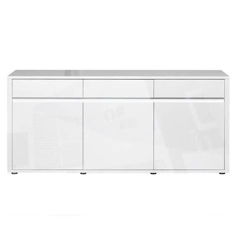 High Gloss White Sideboard by Urbana White High Gloss Sideboard 3 Drawer 3 Door Fads
