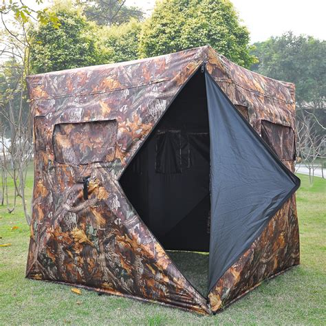 pop up blinds pop up ground blind real tree camo tent hunt