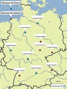 Deutschland Physische Karte : karte von deutschland mit fl ssen und gebirgen beurshelp ~ Watch28wear.com Haus und Dekorationen