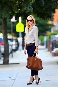18 Best Women Work Outfits With Jeans | Styleoholic