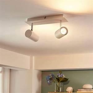 Repartition Spot Led Plafond : iiuk 2 lichts led spot voor muur en plafond ~ Melissatoandfro.com Idées de Décoration