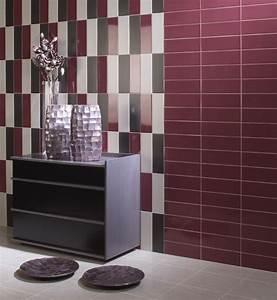 carrelage colore salle de bain - carrelage m tro mat ou brillant plat 10x30