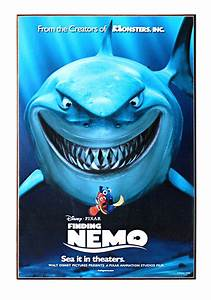 "Finding Nemo Bruce 13"" x 19"" Wood Wall Décor"