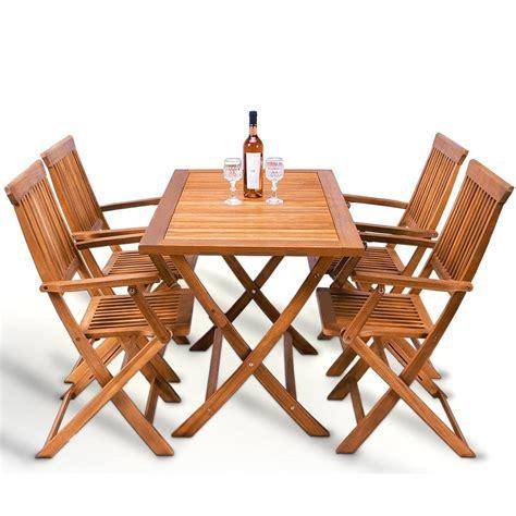 chaise table table pliante avec 4 chaises integrees chaise idées de