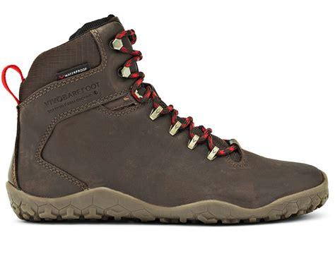 Moofeat Tracking Boots Black tracker fg womens lifestyle road shoes vivobarefoot