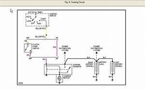 I Am Looking For A Starter Wiring Diagram For A 1986