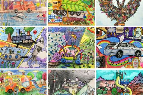 toyotas  dream car art contest pfaff auto