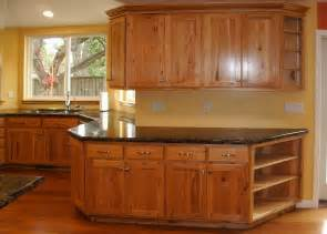 rustic hickory rta kitchen cabinets bar cabinet