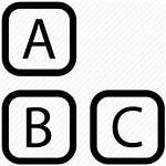 Alphabet Icon Icons Abc Alphabets Letters Psd