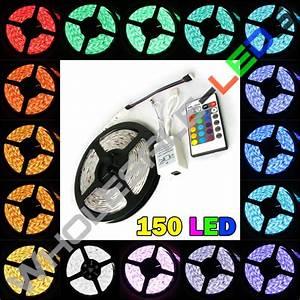 24v 5050 Color Changing Rgb Super Bright Led Strip Light