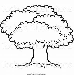 Trees Black And White Clipart (63+)