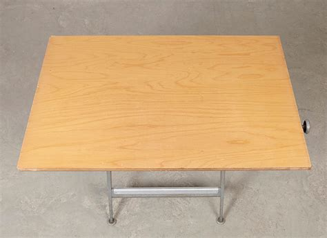 vintage drafting table chair by wim rietveld friso