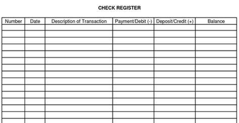 images  checking account balance worksheet
