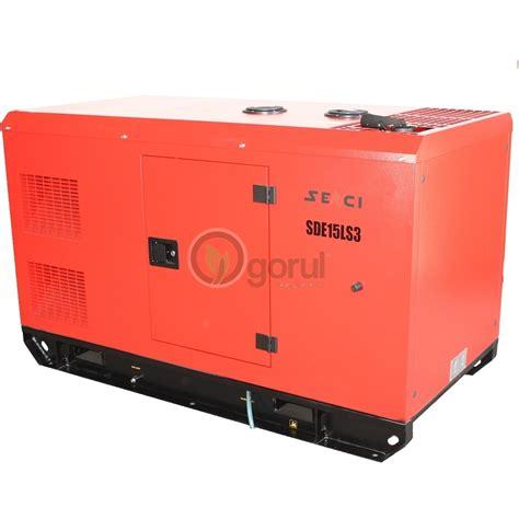 Motor Trifazic 2 2kw Pret by Generator De Curent Insonorizat Senci Sde15ls3 Trifazic